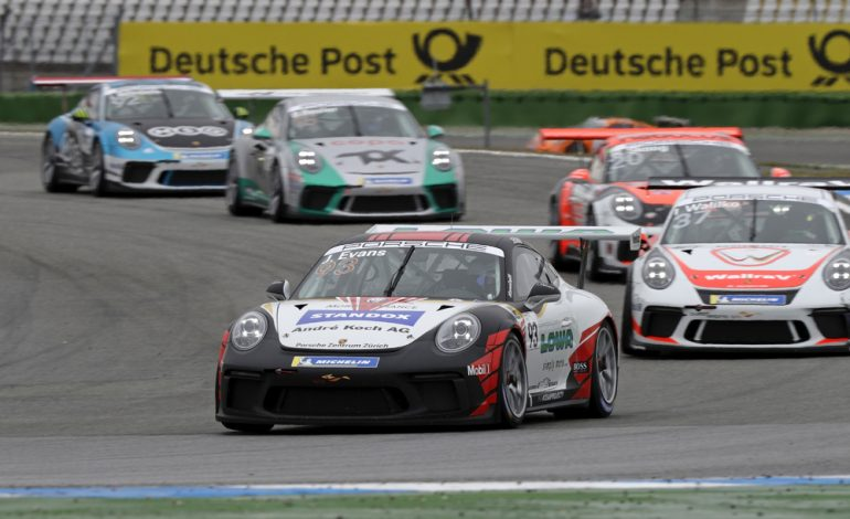 Porsche Carrera Cup: Right on the podium